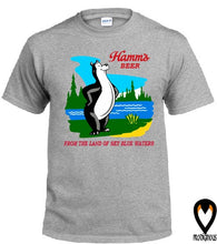 Load image into Gallery viewer, Classic Hamm's Beer - Retro Design T-Shirt