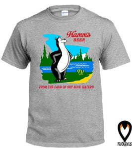 Classic Hamm's Beer - Retro Design T-Shirt