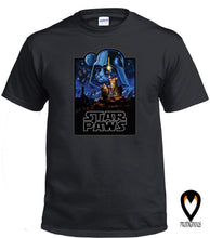 Load image into Gallery viewer, Star Paws - Sci-Fi Cat - T-Shirt