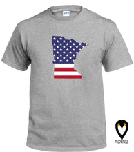 Load image into Gallery viewer, Minnesota -US Flag - T-Shirt