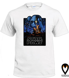 Star Paws - Sci-Fi Cat - T-Shirt