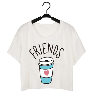 Best Friends Donut and Coffee Tee Gotamochi BTS MERCH BT21 MERCH KAWAII STORE