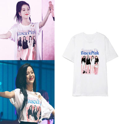 BLACKPINK HD Printing T-shirt (Concept 2) Gotamochi BTS MERCH BT21 MERCH KAWAII STORE