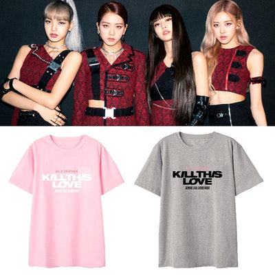 BLACKPINK Kill This Love T-shirt Gotamochi BTS MERCH BT21 MERCH KAWAII STORE