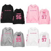 BLACKPINK Member Name Sleeve Classic Hoodie Gotamochi BTS MERCH BT21 MERCH KAWAII STORE