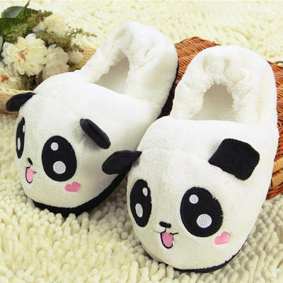Blushing Panda Slippers Gotamochi BTS MERCH BT21 MERCH KAWAII STORE