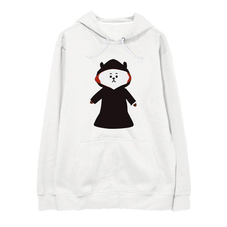 BT21 Halloween 'Oversized' Hoodie RJ / M Gotamochi BTS MERCH BT21 MERCH KAWAII STORE