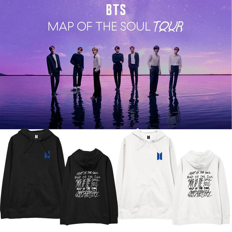 BTS 2020 'TOUR' Hoodie Gotamochi BTS MERCH BT21 MERCH KAWAII STORE