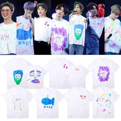 BTS 5th Muster Magic Shop Concert T-shirt Gotamochi BTS MERCH BT21 MERCH KAWAII STORE