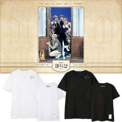 BTS 5th Muster Magic Shop T-shirt Gotamochi BTS MERCH BT21 MERCH KAWAII STORE