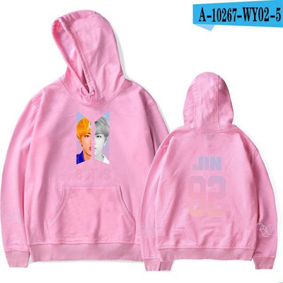 BTS Army Bias Pastel Hoodie pink / M Gotamochi BTS MERCH BT21 MERCH KAWAII STORE