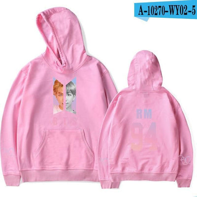 BTS Army Bias Pastel Hoodie pink16 / M Gotamochi BTS MERCH BT21 MERCH KAWAII STORE
