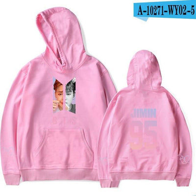 BTS Army Bias Pastel Hoodie pink20 / M Gotamochi BTS MERCH BT21 MERCH KAWAII STORE
