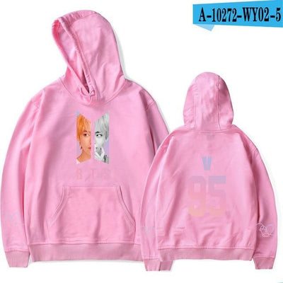 BTS Army Bias Pastel Hoodie pink24 / M Gotamochi BTS MERCH BT21 MERCH KAWAII STORE