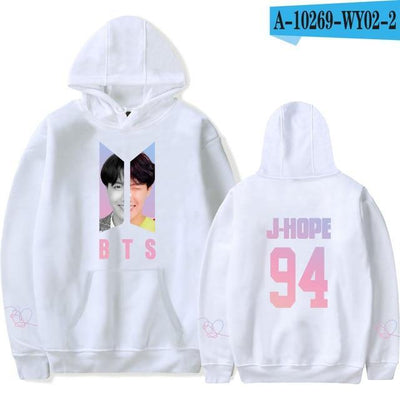 BTS Army Bias Pastel Hoodie white10 / M Gotamochi BTS MERCH BT21 MERCH KAWAII STORE