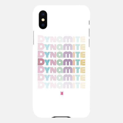 BTS ARMY | DYNAMITE IPHONE CASE iPhone 7/8 Gotamochi BTS MERCH BT21 MERCH KAWAII STORE