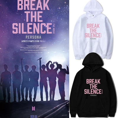 BTS Break The Silence Design Hoodie Gotamochi BTS MERCH BT21 MERCH KAWAII STORE