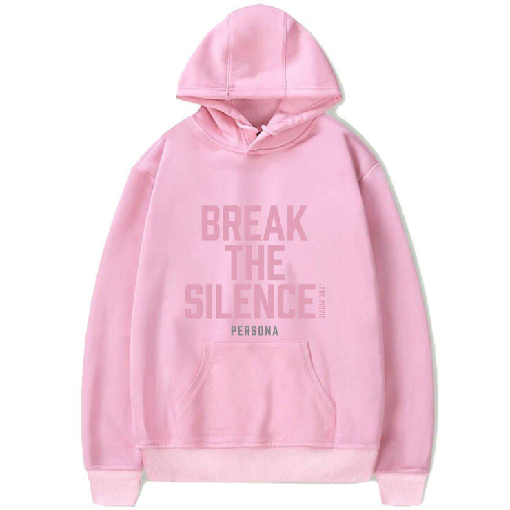 BTS Break The Silence Design Hoodie PINK / S Gotamochi BTS MERCH BT21 MERCH KAWAII STORE