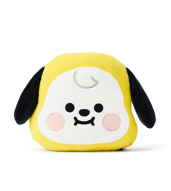 BTS BT21 Baby Face Flat Cushion 25x30cm / CHIMMY JIMIN Gotamochi BTS MERCH BT21 MERCH KAWAII STORE