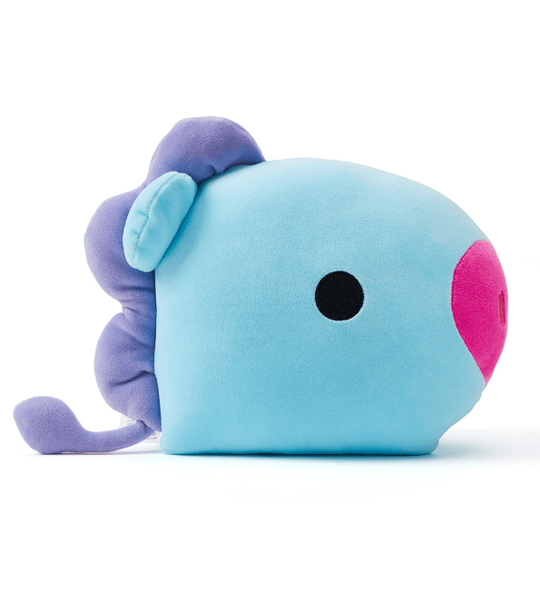 BTS BT21 Baby Face Flat Cushion 25x30cm / MANG J HOPE Gotamochi BTS MERCH BT21 MERCH KAWAII STORE