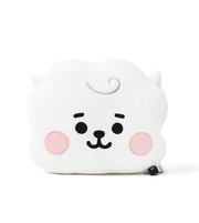 BTS BT21 Baby Face Flat Cushion 25x30cm / RJ JIN Gotamochi BTS MERCH BT21 MERCH KAWAII STORE