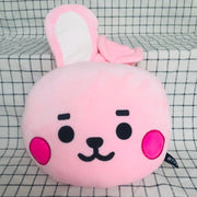 BTS BT21 Baby Face Flat Cushion Gotamochi BTS MERCH BT21 MERCH KAWAII STORE
