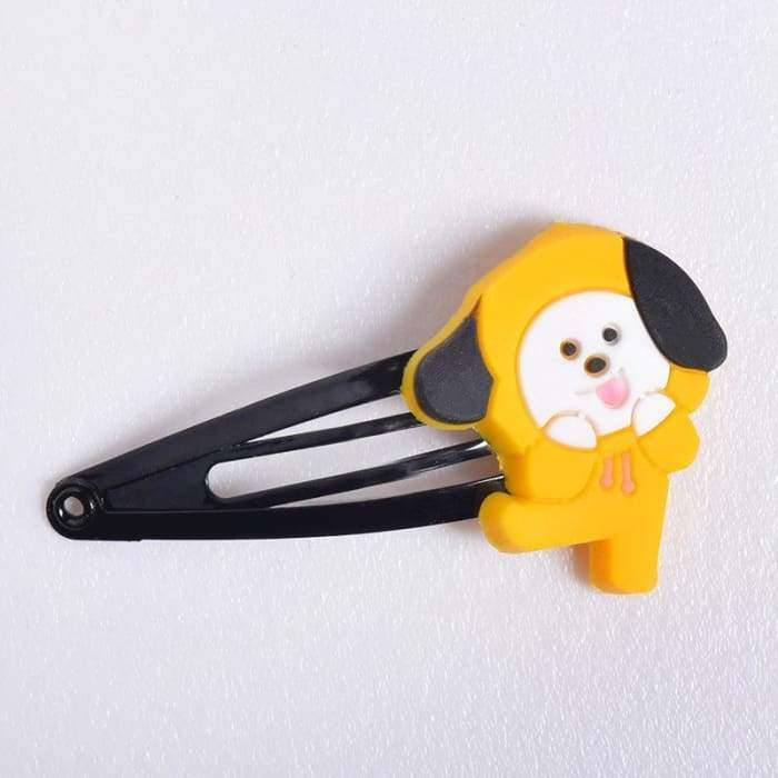 BTS BT21 Character Hair Clip CHIMMY Gotamochi BTS MERCH BT21 MERCH KAWAII STORE