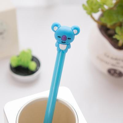 BTS BT21 Full Stationery Gel Pen Koya Gotamochi BTS MERCH BT21 MERCH KAWAII STORE
