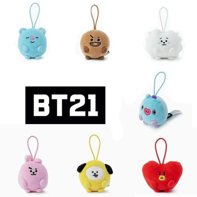 BTS BT21 Mini Plush Doll ALL 7 Dolls (20% discount) Gotamochi BTS MERCH BT21 MERCH KAWAII STORE