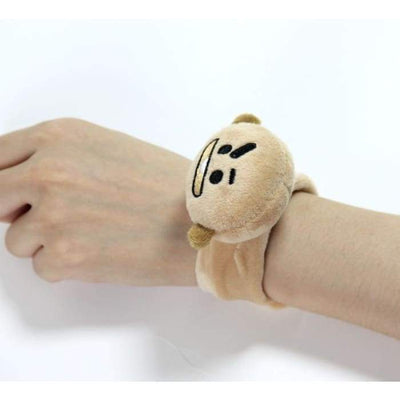 BTS BT21 Plush Hand Wrist Strap SHOOKY Gotamochi BTS MERCH BT21 MERCH KAWAII STORE