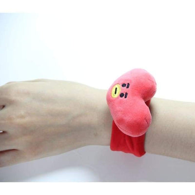 BTS BT21 Plush Hand Wrist Strap TATA Gotamochi BTS MERCH BT21 MERCH KAWAII STORE