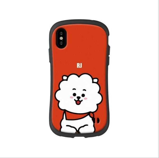 BTS BT21 Silicon Rubber iPhone Cases 1 / For iPhone 6 6S Gotamochi BTS MERCH BT21 MERCH KAWAII STORE