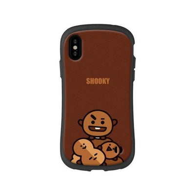 BTS BT21 Silicon Rubber iPhone Cases 3 / For iPhone 6 6S Gotamochi BTS MERCH BT21 MERCH KAWAII STORE