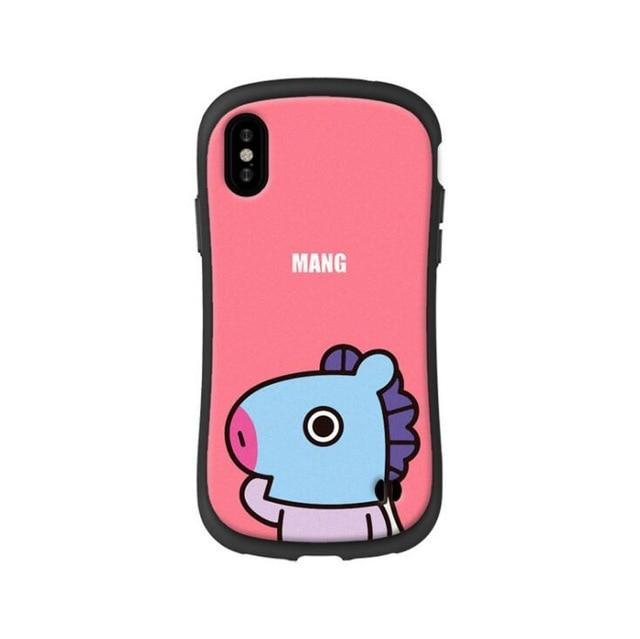 BTS BT21 Silicon Rubber iPhone Cases 4 / For iPhone 6 6S Gotamochi BTS MERCH BT21 MERCH KAWAII STORE