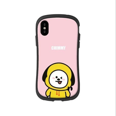 BTS BT21 Silicon Rubber iPhone Cases 8 / For iPhone 6 6S Gotamochi BTS MERCH BT21 MERCH KAWAII STORE