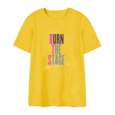 "BTS ""Burn The Stage"" Tee T10 / S Gotamochi BTS MERCH BT21 MERCH KAWAII STORE"