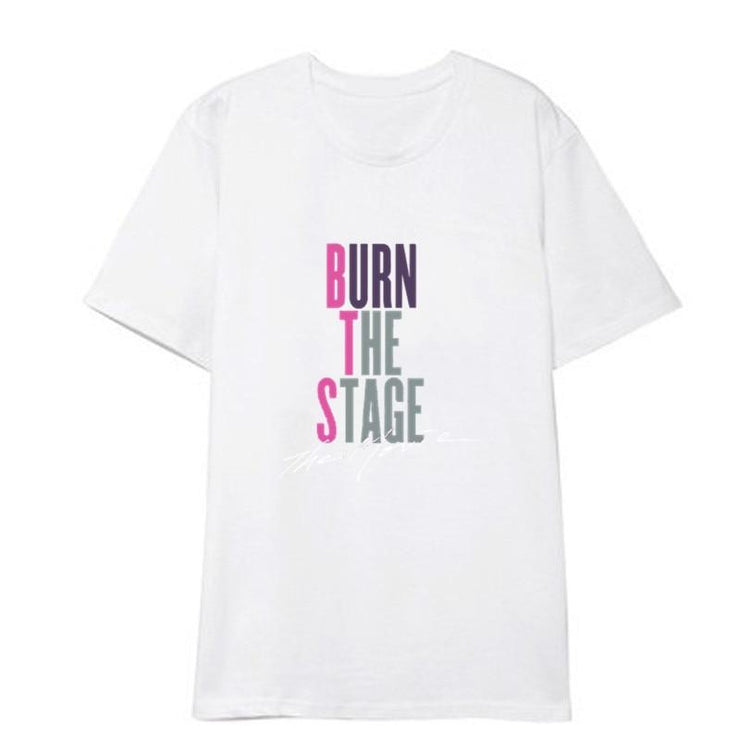 "BTS ""Burn The Stage"" Tee Gotamochi BTS MERCH BT21 MERCH KAWAII STORE"