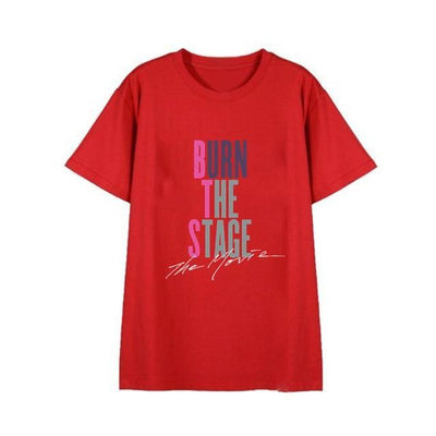 "BTS ""Burn The Stage"" Tee T9 / S Gotamochi BTS MERCH BT21 MERCH KAWAII STORE"