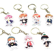 BTS Cartoon Keychain Gotamochi BTS MERCH BT21 MERCH KAWAII STORE