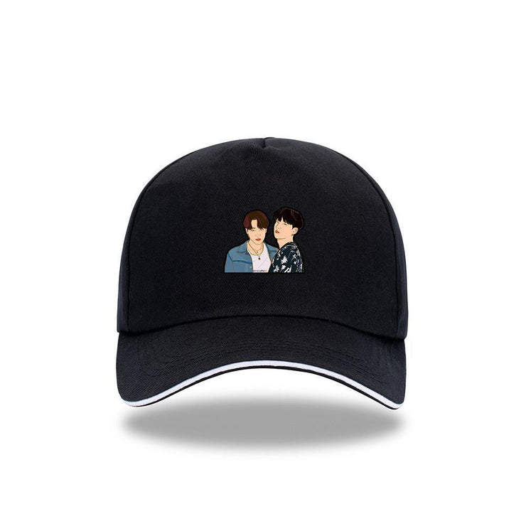 BTS 'DYNAMITE' Concept Cap B / BLACK Gotamochi BTS MERCH BT21 MERCH KAWAII STORE