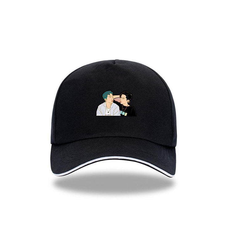 BTS 'DYNAMITE' Concept Cap C / BLACK Gotamochi BTS MERCH BT21 MERCH KAWAII STORE