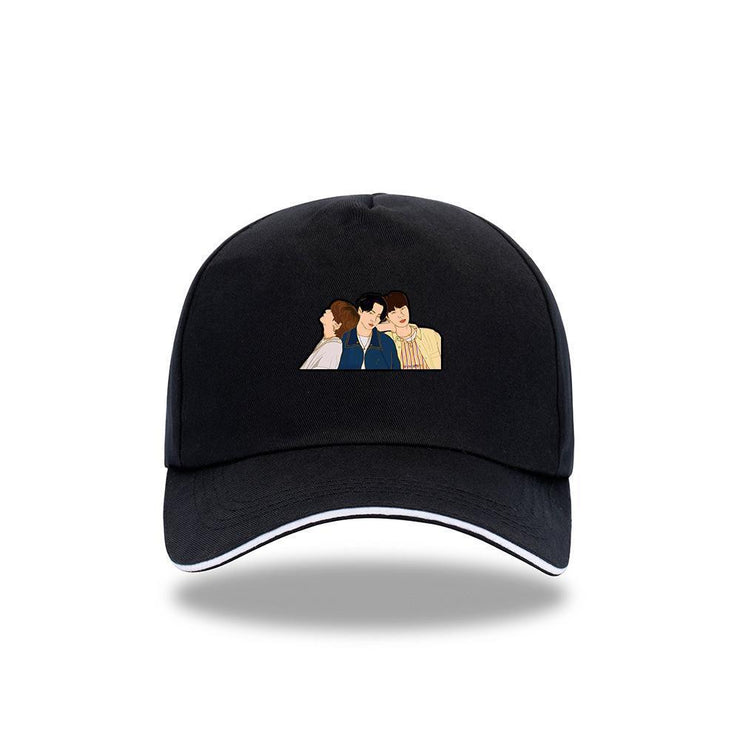 BTS 'DYNAMITE' Concept Cap D / BLACK Gotamochi BTS MERCH BT21 MERCH KAWAII STORE