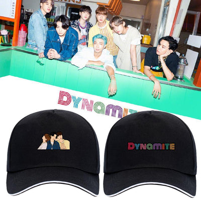 BTS 'DYNAMITE' Concept Cap Gotamochi BTS MERCH BT21 MERCH KAWAII STORE