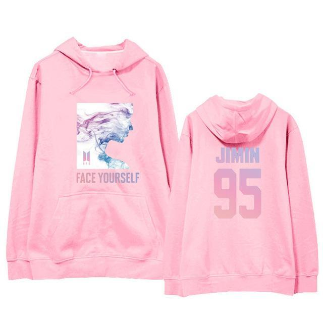 BTS Face Yourself Bias Hoodie JIMIN10 / M Gotamochi BTS MERCH BT21 MERCH KAWAII STORE