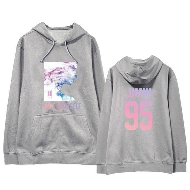 BTS Face Yourself Bias Hoodie JIMIN8 / M Gotamochi BTS MERCH BT21 MERCH KAWAII STORE