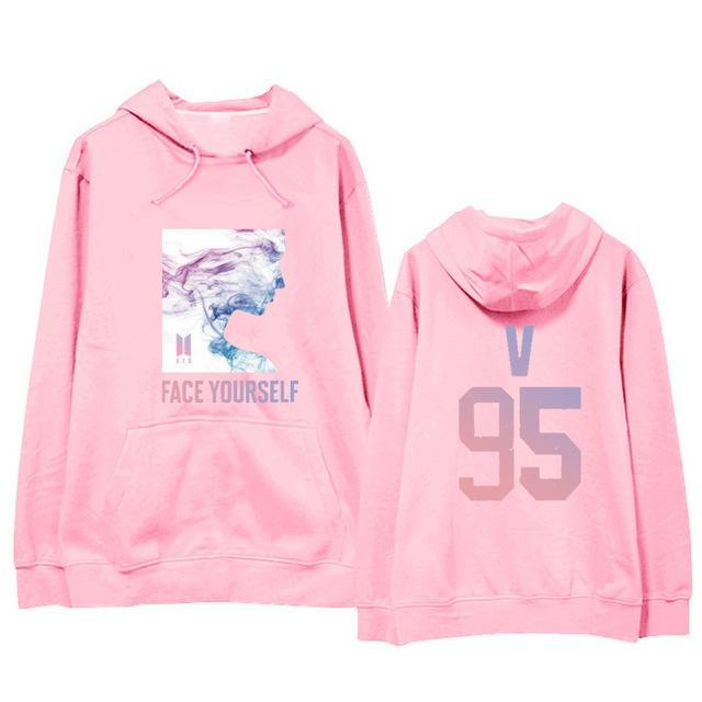 BTS Face Yourself Bias Hoodie V5 / M Gotamochi BTS MERCH BT21 MERCH KAWAII STORE