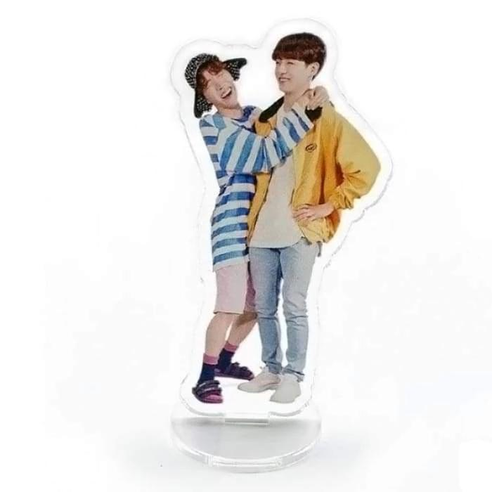 BTS FESTA 2019 Standing Plaque JHOPE-JUNGKOOK Gotamochi BTS MERCH BT21 MERCH KAWAII STORE