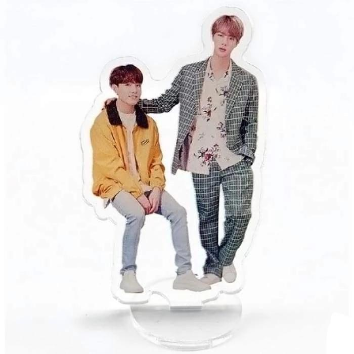 BTS FESTA 2019 Standing Plaque JIN-JUNGKOOK Gotamochi BTS MERCH BT21 MERCH KAWAII STORE