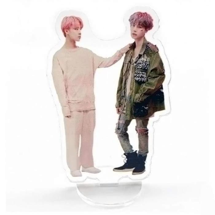 BTS FESTA 2019 Standing Plaque SUGA-JIMIN Gotamochi BTS MERCH BT21 MERCH KAWAII STORE