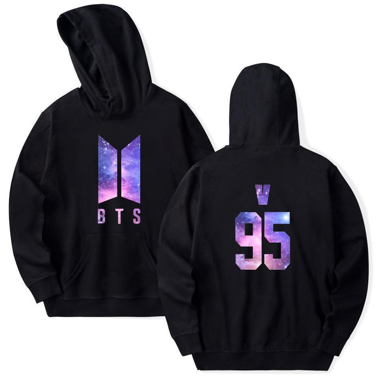 BTS Galaxy Nexus Bias Hoodie V / Black / M Gotamochi BTS MERCH BT21 MERCH KAWAII STORE
